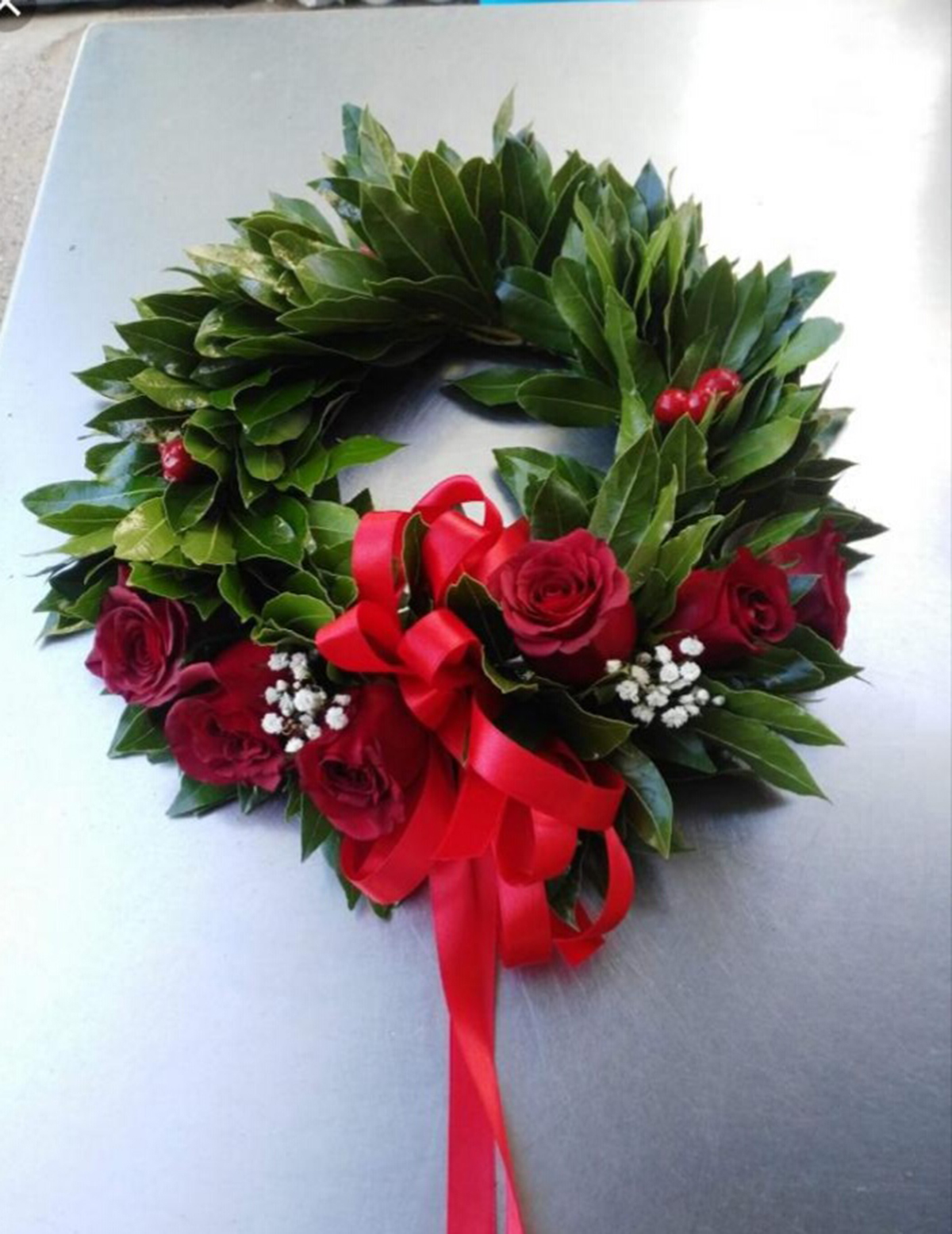 Fiori 04100.Coroncina Laurea Con Fiori Aloe Garden Latina